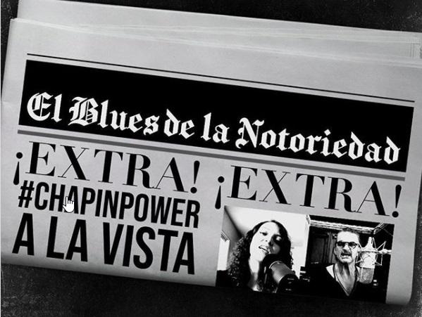 """Luego del éxito de hace nueve años con """"Fuiste tú"""" dos grandes voces guatemaltecas se unen nuevamente, Ricardo Arjona y Gaby Moreno lanzan la canción """"El Blues de la Notoriedad"""" del proyecto """"Blanco"""" del cantautor guatemalteco"""