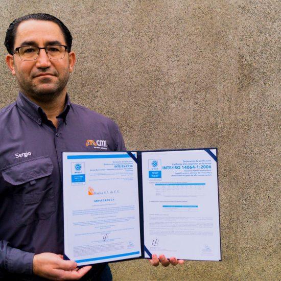 Planta Harisa de CMI Alimentos logra certificación de Carbono Neutral