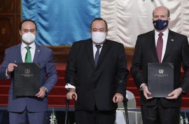 Gobiernos de Guatemala y Estados Unidos firman Memorándum de Entendimiento para potenciar inversiones y generar empleo