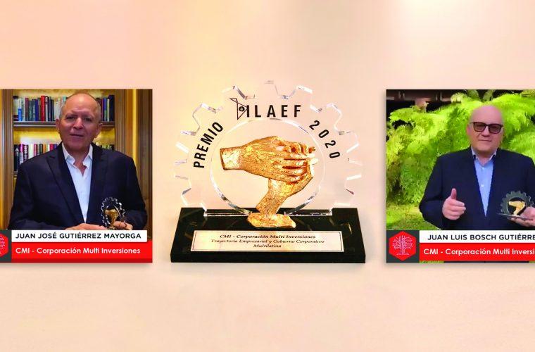 Corporación Multi Inversiones recibe reconocimiento por su trayectoria como empresa familiar multilatina