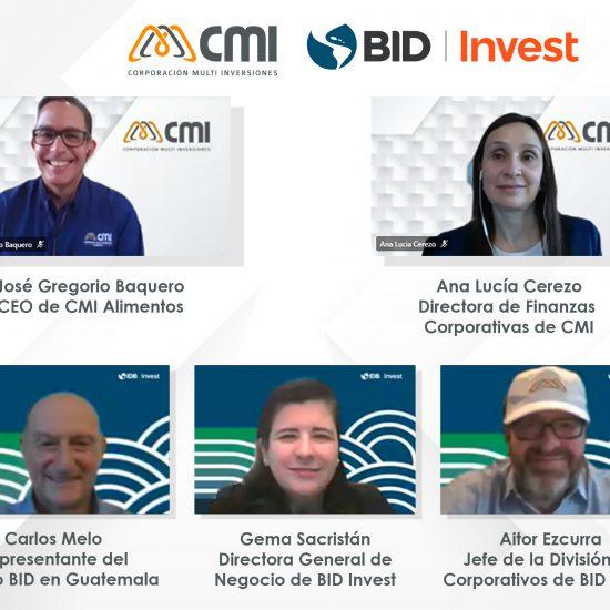 CMI y BID Invest