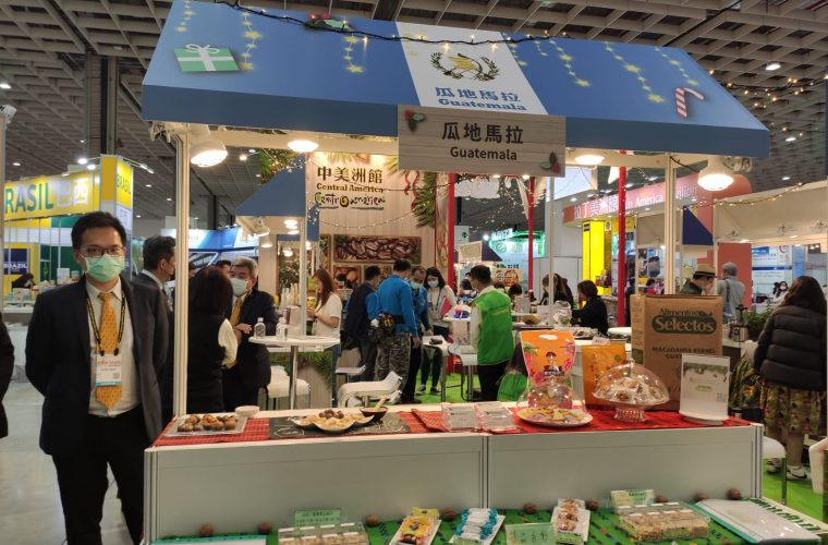 Productos guatemaltecos destacan en Taiwán