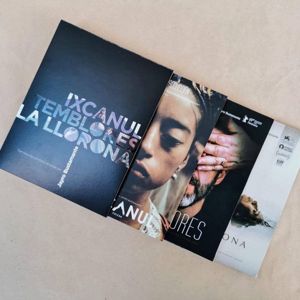 Cineasta guatemalteco lanza colección de DVD´s